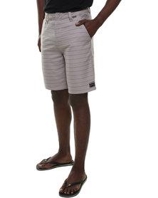 Quiksilver Tiger Times 20' Shorts Grey
