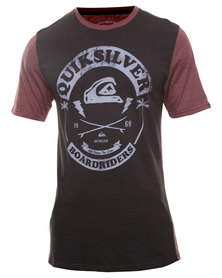 Quiksilver Tiger Tiger Short Sleeve T-Shirt Grey
