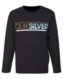 Quiksilver Mothership L/S T-Shirt Black