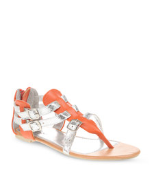 Rage Gladiator Sandals Orange