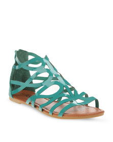 Rage Grecian Sandals Teal
