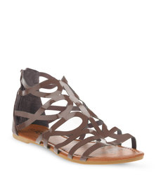 Rage Grecian Sandals Taupe