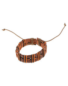 Rebel Road Rope Bracelet Orange