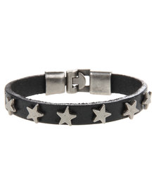 Rebel Road Star Bracelet Black