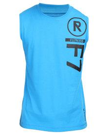 Reebok Performance Fitness Sleeveless Tee Blue