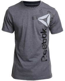 Reebok Performance Big Delta Graphic Grey