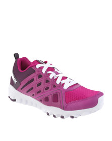 Reebok Performance Realflex Train 3.0 Training Shoes Pink