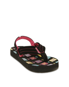 Reef Brazil AHI Toddler Sandals Black