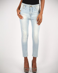 Relish Light Wash Skinny Jeans Blue