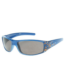 Revex Wrap Sunglasses Blue