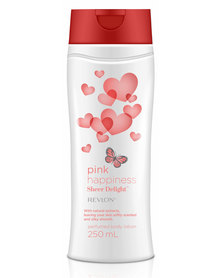 Revlon Pink Happiness Sheer Delight 250ml Perfumed Body Lotion
