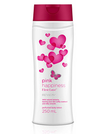 Revlon Pink Happiness First Love 250ml Perfumed Body Lotion