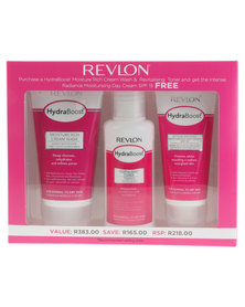 Revlon Hydra Boost Cleanser & Toner Set with Free Moisturizer