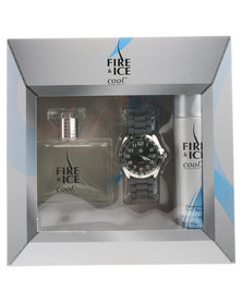 Revlon Fire & Ice Cool Men's Deluxe Pack