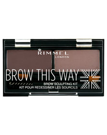 Rimmel Brow This Way Sculpting Kit Medium Brown