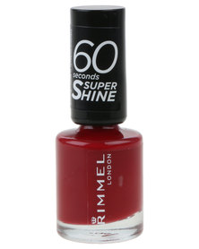 Rimmel 60 Seconds Nail Polish 320 Red