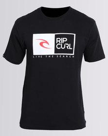 Rip Curl Rip Tee Black