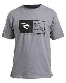 Rip Curl Rip Tee Grey