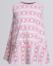 Rip Curl Mini Mira Beach Dress White