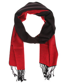 Robert Daniel Cashmere Feel Colour Block Scarf Multi