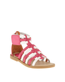 Rock n Co Geneva Youth Sandal Pink/White
