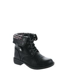 Rock n Co Fifi Ankle Boot Black