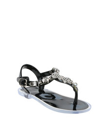 Rock n Co Mia Infant Jelly Sandals Black