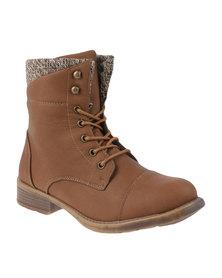 Rock n Co Agness Boot Tan