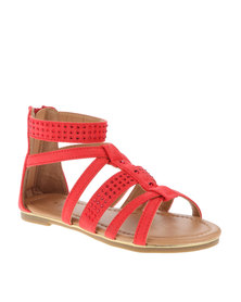 Rock & Co Penny Sandals Red