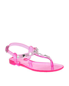 Rock n Co Michelle Kids Jelly Sandals Pink
