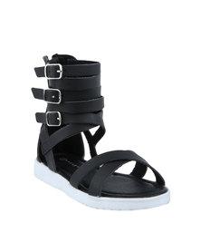 Rock & Co Starlight Sandals Black