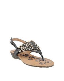 Rock & Co Goldilocks Sandals Black