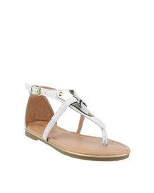Rock & Co Nala Sandals White