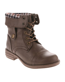 Rock n Co Fifi Ankle Boot Brown