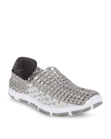 Rock Spring Casual Shoes Silver