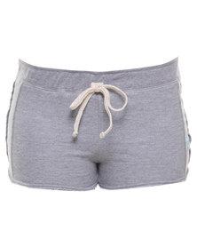 Roxy Cloud Burst Shorts Grey