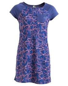 Roxy Girls Gigantic Spree Dress Blue