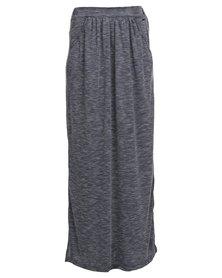 Roxy Last Line Maxi Skirt Grey
