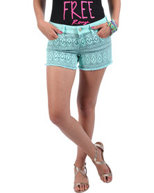 Roxy Pirates' Paradise Shorts Blue