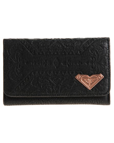 Roxy Kenzie Wallet Black