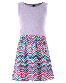 Roxy Printed Sun Dress Multi