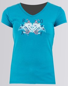 Roxy Girls Island Vibez Top Blue