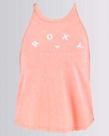 Roxy Girls Mountain Ritual Top Pink