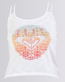 Roxy Girls Ideal Vacation Top White