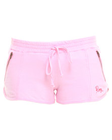 Roxy Sideline Shorts Pink