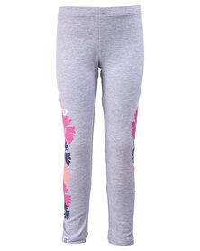 Roxy Flower Sunrise Leggings Grey