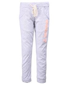 Roxy Speedy G 2 Girls Sweat Pants Grey