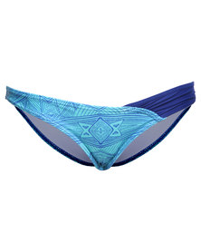 Roxy Bali Tide Bikini Bottom Blue