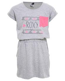 Roxy Summer Days Dress Grey