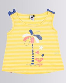 Roxy Tods Fool For You Top Yellow